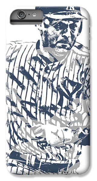 Derek Jeter iPhone 7 Plus Case - Derek Jeter New York Yankees Pixel Art 12 by Joe Hamilton