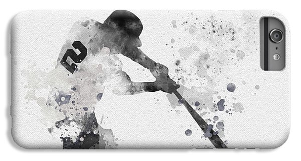 Derek Jeter iPhone 7 Plus Case - Derek Jeter by Rebecca Jenkins