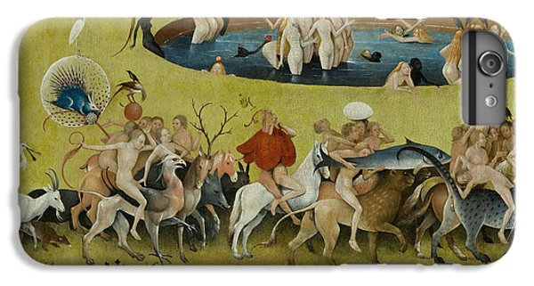 Detail From The Central Panel Of The Garden Of Earthly Delights IPhone 7 Plus Case
