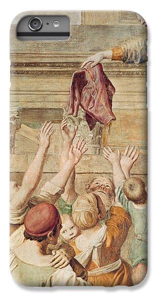 Donation iPhone 7 Plus Case - Detail Of Saint Cecilia Distributing Alms by Domenichino