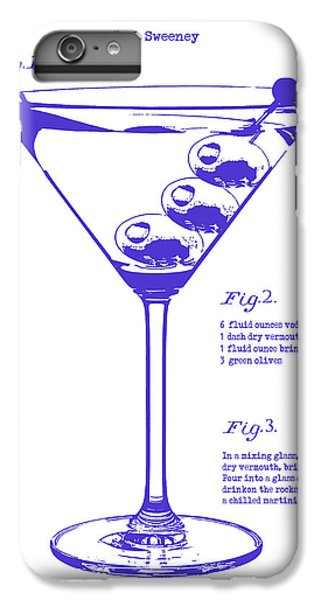 Dirty Martini Blueprint IPhone 7 Plus Case by Jon Neidert