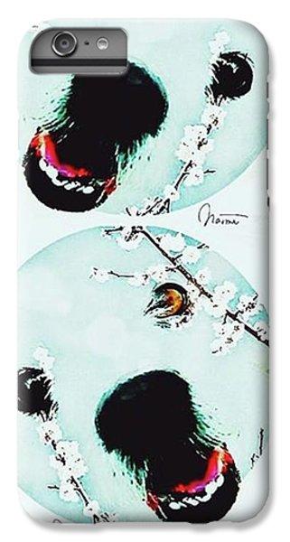iPhone 7 Plus Case - Dog Blossoms  by Naomi Ibuki