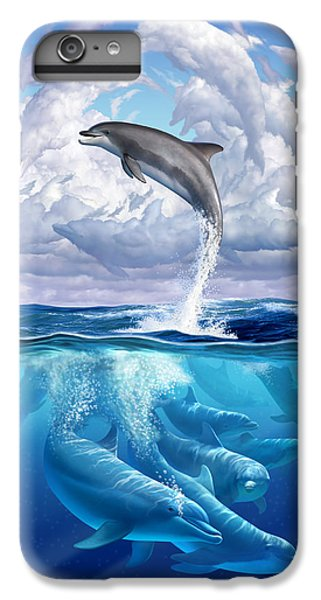 Dolphonic Symphony IPhone 7 Plus Case by Jerry LoFaro