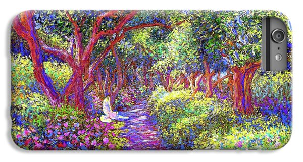 Dove And Healing Garden IPhone 7 Plus Case