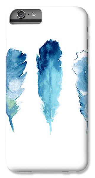 Lake iPhone 7 Plus Case - Dream Catcher Feathers Painting by Joanna Szmerdt