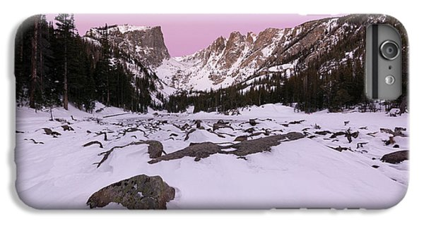 IPhone 7 Plus Case featuring the photograph Dream Lake - Pre Dawn by Aaron Spong