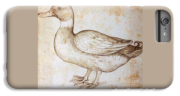 Duck IPhone 7 Plus Case by Leonardo Da Vinci