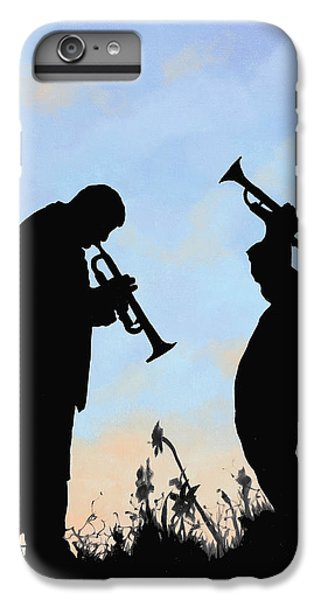 Trumpet iPhone 7 Plus Case - duo by Guido Borelli