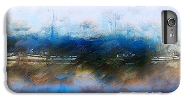 Shrimp Boats iPhone 7 Plus Case - Dusted Shremp Creek by Jon Glaser