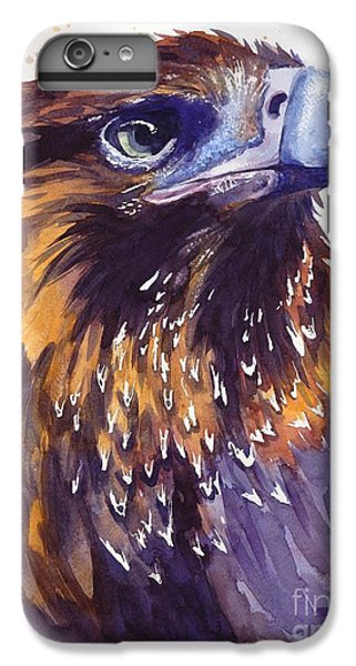 Pigeon iPhone 7 Plus Case - Eagle's Head by Suzann's Art