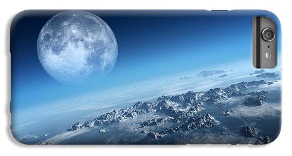 Moon iPhone 7 Plus Case - Earth Icy Ocean Aerial View by Johan Swanepoel