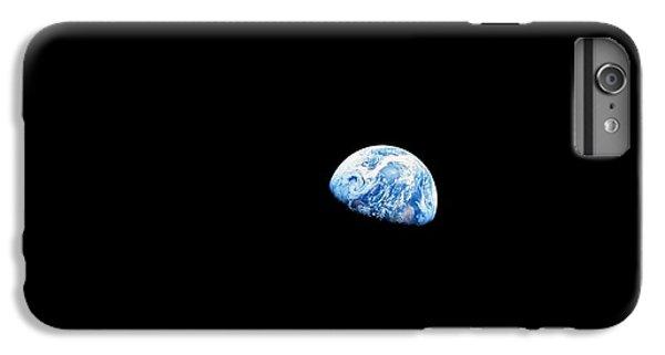 Earthrise Over Moon, Apollo 8 IPhone 7 Plus Case