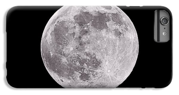 Moon iPhone 7 Plus Case - Earth's Moon by Steve Gadomski