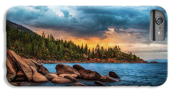 Lake iPhone 7 Plus Case - Eastern Glow At Sunset by Anthony Bonafede