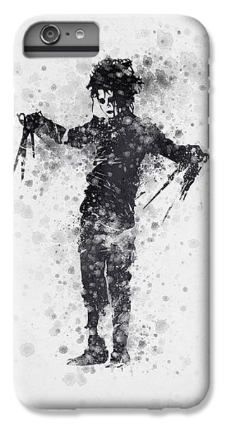 Johnny Depp iPhone 7 Plus Case - Edward Scissorhands 01 by Aged Pixel