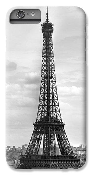 Eiffel Tower Black And White IPhone 7 Plus Case by Melanie Viola