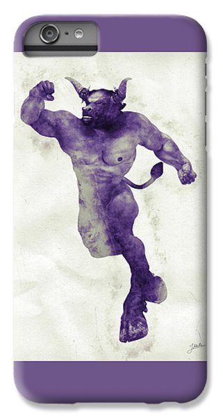 Minotaur iPhone 7 Plus Case - El Torito Guapo by Joaquin Abella