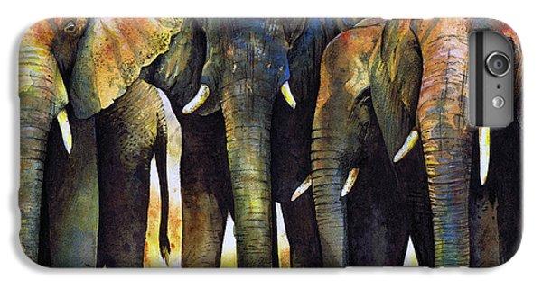 Elephant Herd IPhone 7 Plus Case