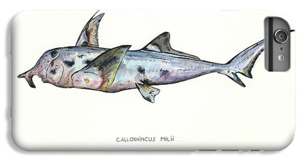 Hammerhead Shark iPhone 7 Plus Case - Elephant Shark by Juan Bosco