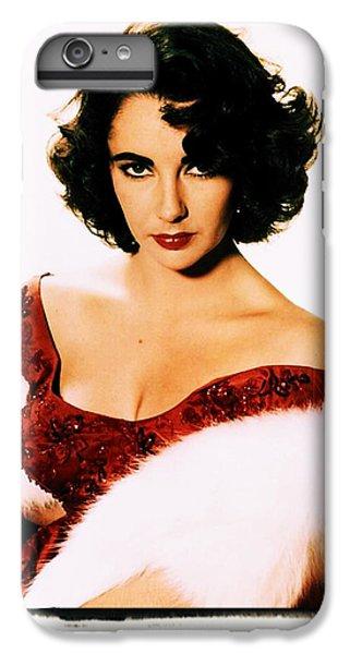 Elizabeth Taylor IPhone 7 Plus Case by John Springfield