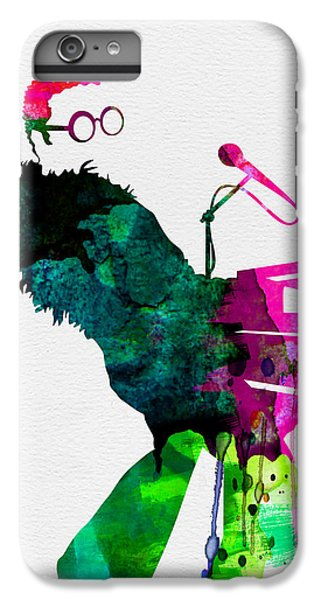 Elton Watercolor IPhone 7 Plus Case by Naxart Studio