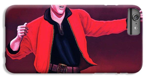 Elvis Presley iPhone 7 Plus Case - Elvis Presley 4 Painting by Paul Meijering