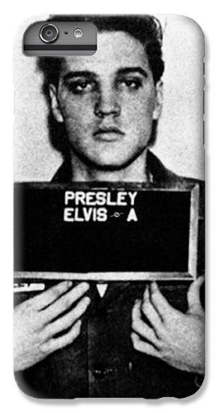 Elvis Presley iPhone 7 Plus Case - Elvis Presley Mug Shot Vertical 1 by Tony Rubino