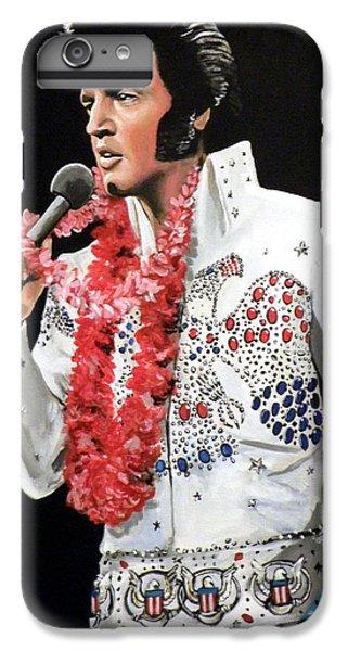 Elvis Presley iPhone 7 Plus Case - Elvis by Tom Carlton
