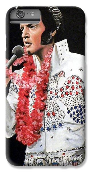 Elvis IPhone 7 Plus Case by Tom Carlton