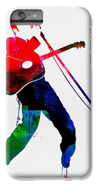 Elvis Presley iPhone 7 Plus Case - Elvis Watercolor by Naxart Studio