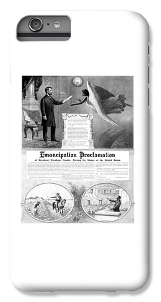 Abraham Lincoln iPhone 7 Plus Case - Emancipation Proclamation by War Is Hell Store