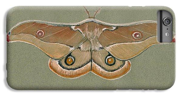 Hawk iPhone 7 Plus Case - Emperor Gum Moth by Juan Bosco