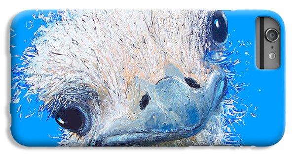 Emu Painting IPhone 7 Plus Case by Jan Matson