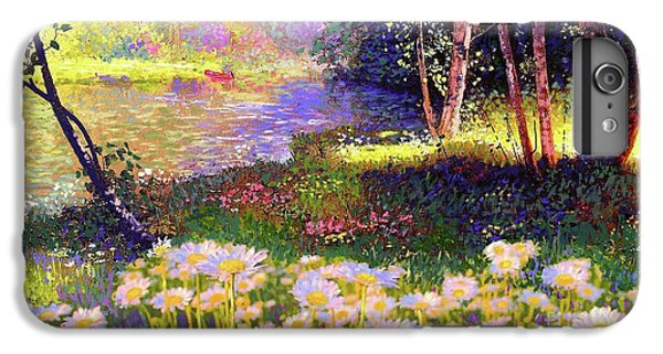 Enchanted By Daisies, Modern Impressionism, Wildflowers, Silver Birch, Aspen IPhone 7 Plus Case