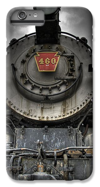Train iPhone 7 Plus Case - Engine 460 Front And Center by Scott Wyatt