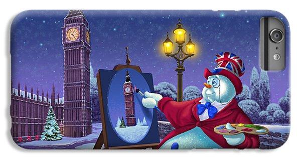English Snowman IPhone 7 Plus Case