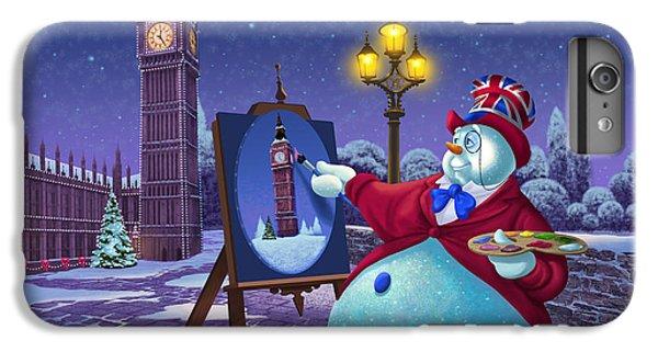 Big Ben iPhone 7 Plus Case - English Snowman by Michael Humphries
