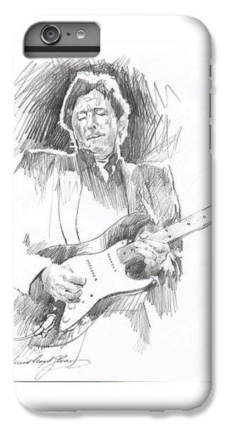 Eric Clapton Blackie IPhone 7 Plus Case by David Lloyd Glover