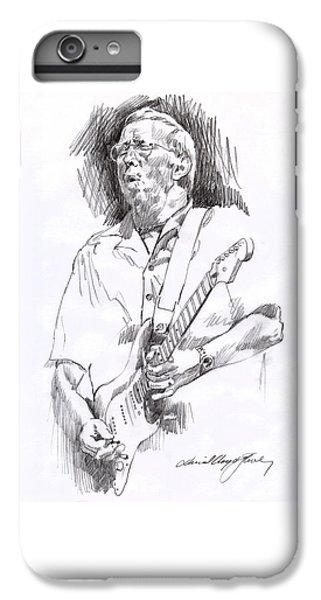 Eric Clapton Blue IPhone 7 Plus Case by David Lloyd Glover