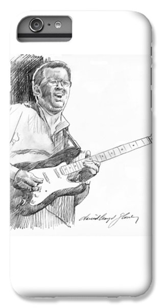 Eric Clapton Jam IPhone 7 Plus Case by David Lloyd Glover