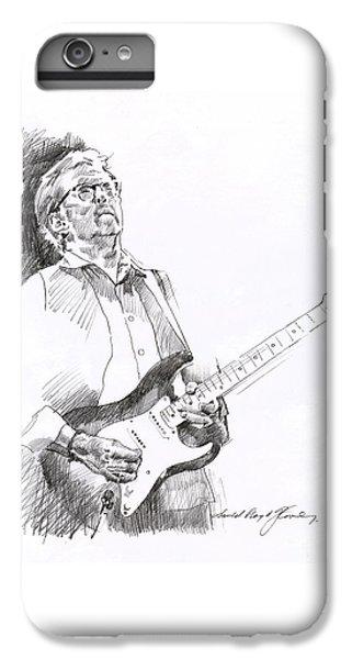 Eric Clapton Joy IPhone 7 Plus Case by David Lloyd Glover