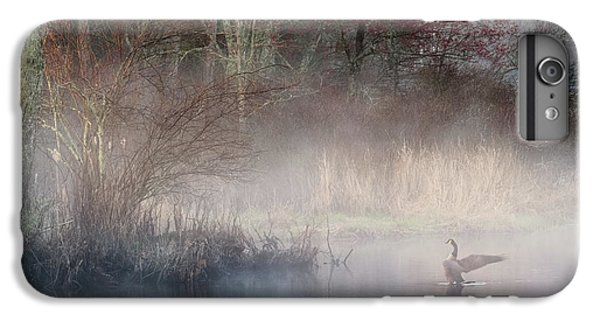 IPhone 7 Plus Case featuring the photograph Ethereal Goose by Bill Wakeley