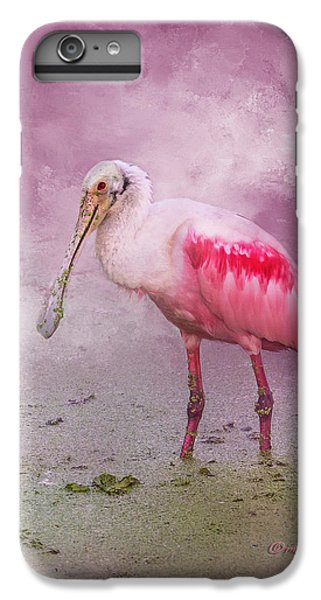 Spoonbill iPhone 7 Plus Case - Everything Is Rosie by Marvin Spates