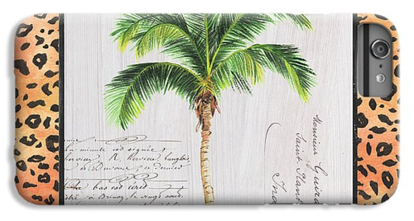 Cheetah iPhone 7 Plus Case - Exotic Palms 1 by Debbie DeWitt