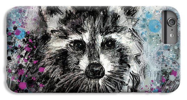 Expressive Raccoon IPhone 7 Plus Case