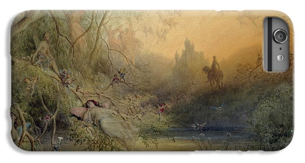 Fairy Land IPhone 7 Plus Case by Gustave Dore