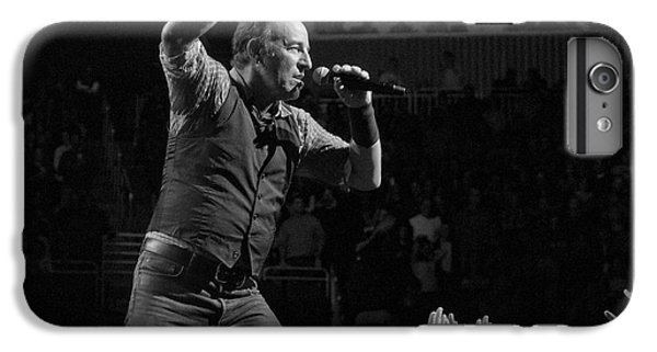 Bruce Springsteen iPhone 7 Plus Case - Faith Will Be Rewarded by Jeff Ross
