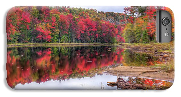 IPhone 7 Plus Case featuring the photograph Fall Color At The Pond by David Patterson