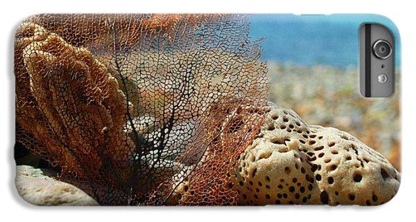 Shrimp Boats iPhone 7 Plus Case - Fan Sponge And Coral by Michael Thomas