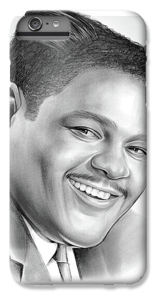 Saxophone iPhone 7 Plus Case - Fats Domino by Greg Joens